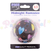 PME Bun / Cupcake Cases MIDNIGHT ROMANCE - Pack of 60