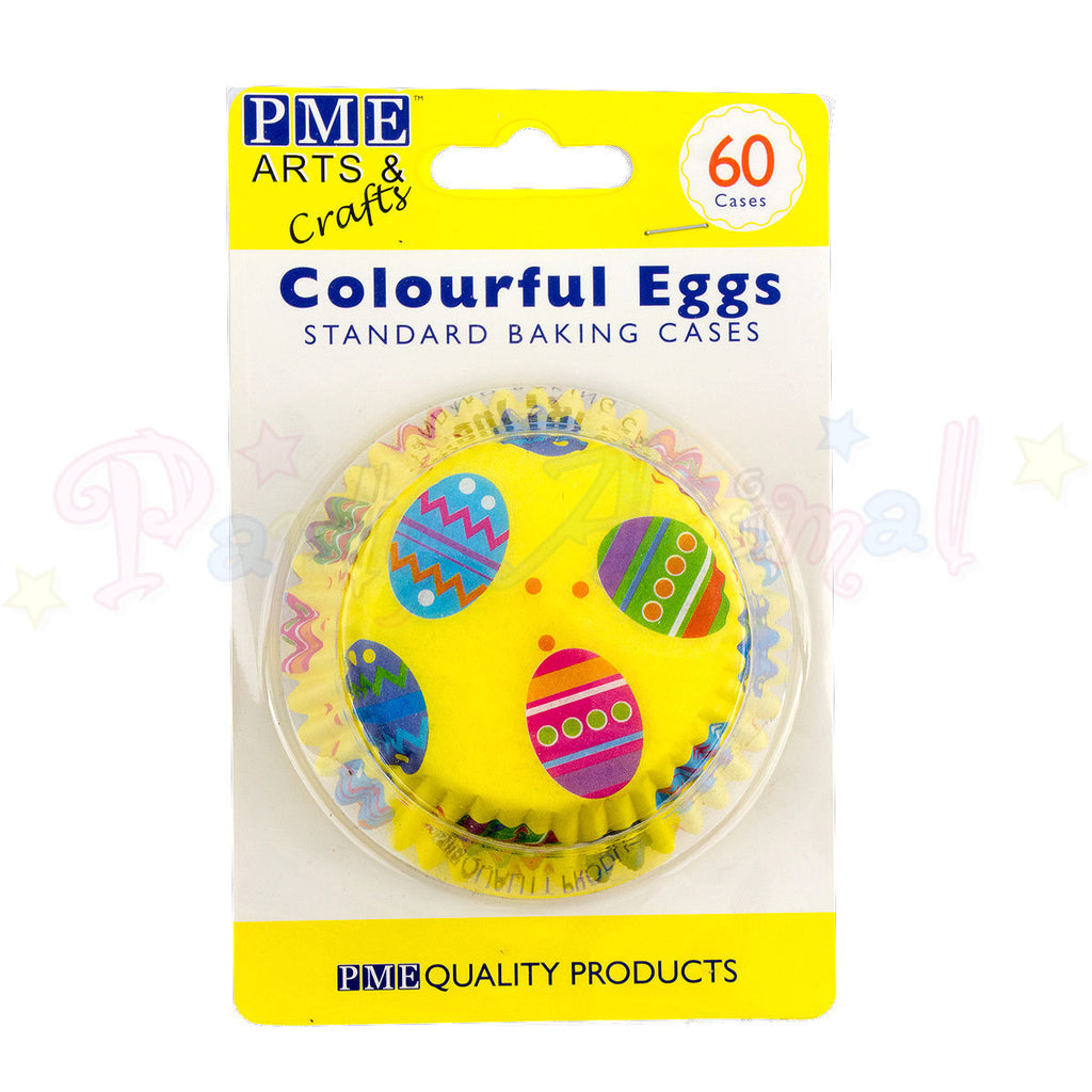 PME Bun / Cupcake Cases COLOURFUL EGGS - Pack of 60