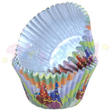 PME FOIL Baking Cases - PARTY HATS Pack of 30 Cupcake / Bun Cases