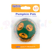 PME Bun / Cupcake Cases PUMPKIN PALS - Pack of 60