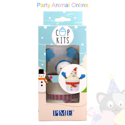 PME Cup Kits - Cupcake creation kits - Snowman