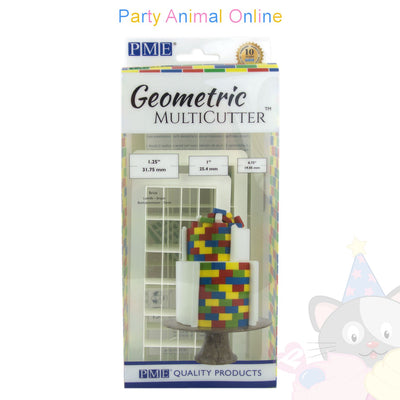 PME Geometric Multicutter Brick Set of 3
