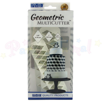 PME Geometric Multicutter Diamond Set of 3