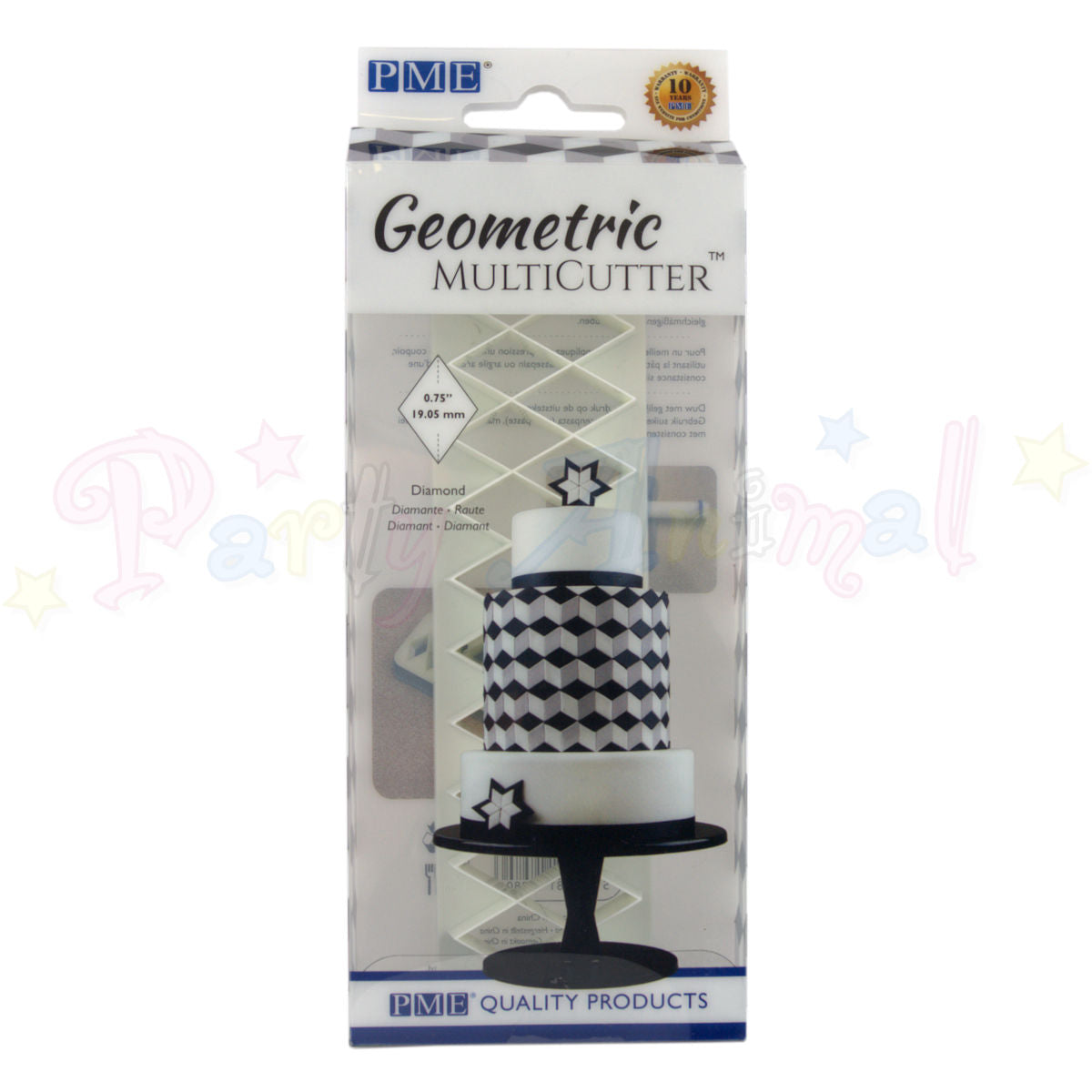 PME Geometric Multicutter Diamond SMALL