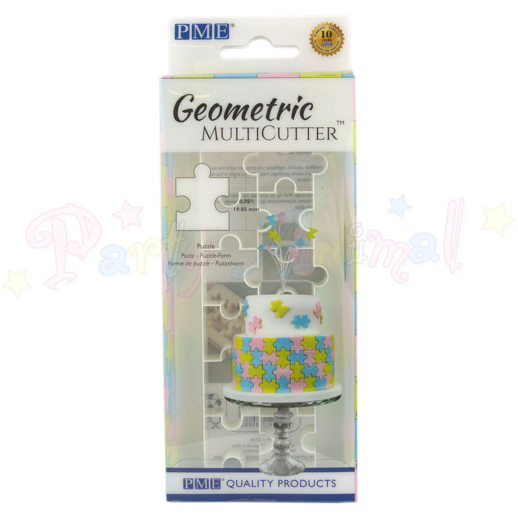 PME Geometric Multicutter Puzzle Piece SMALL