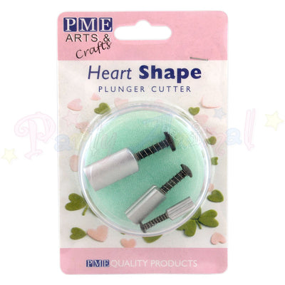 PME Heart Plunger Cutters Set of 3