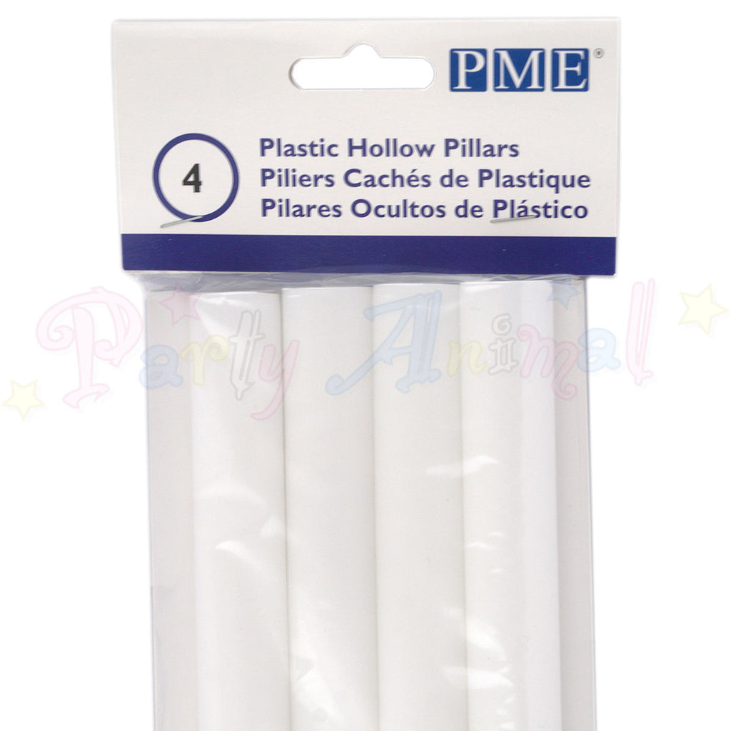 PME White Plastic HOLLOW Dowels - 317mm