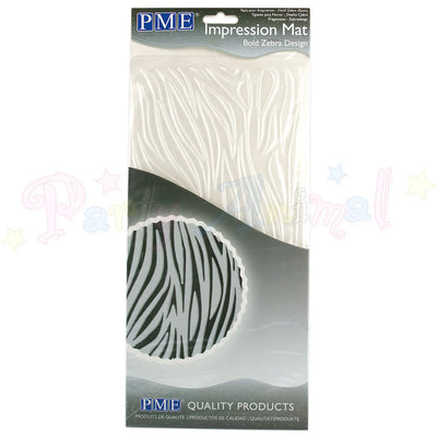 PME Impression Tools - BOLD ZEBRA Design Embossing Mat