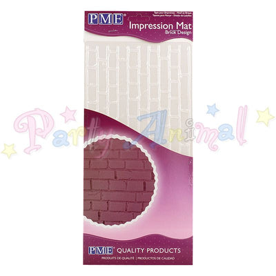 PME Impression Tools - BRICK Design Embossing Mat