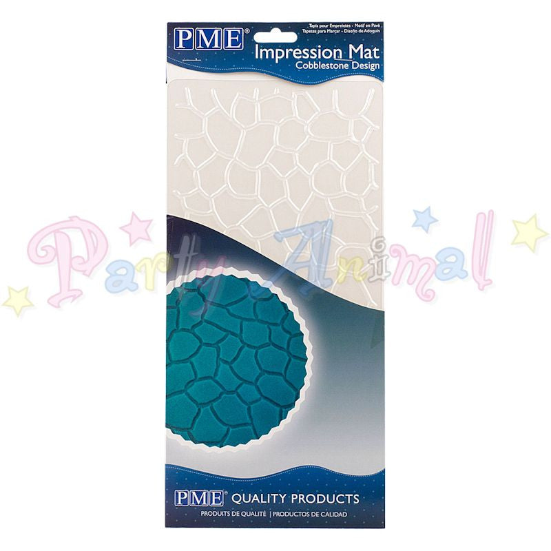 PME Impression Tools - COBBLESTONE Design Embossing Mat