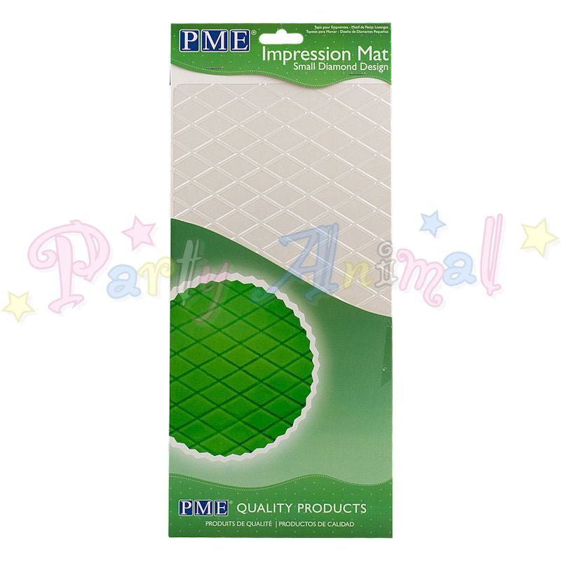 PME Impression Tools - DIAMOND Side Design SMALL Embossing Mat