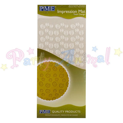 PME Impression Tools - SWIRL Design Embossing Mat