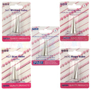 PME Stainless Steel Piping Icing Tube Set of 5