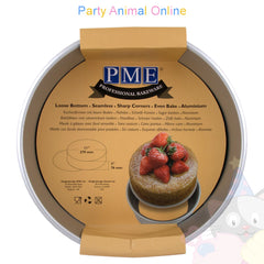 "11"" Round PME Loose Bottom Cake Pan"