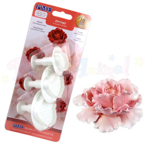 PME Peony Petal Plunger Cutters Set of 3