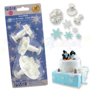 PME Snowflake Plunger Cutters Set of 3