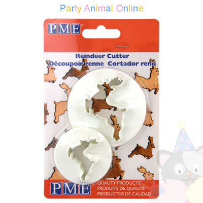 PME Reindeer Cutters Set of 2