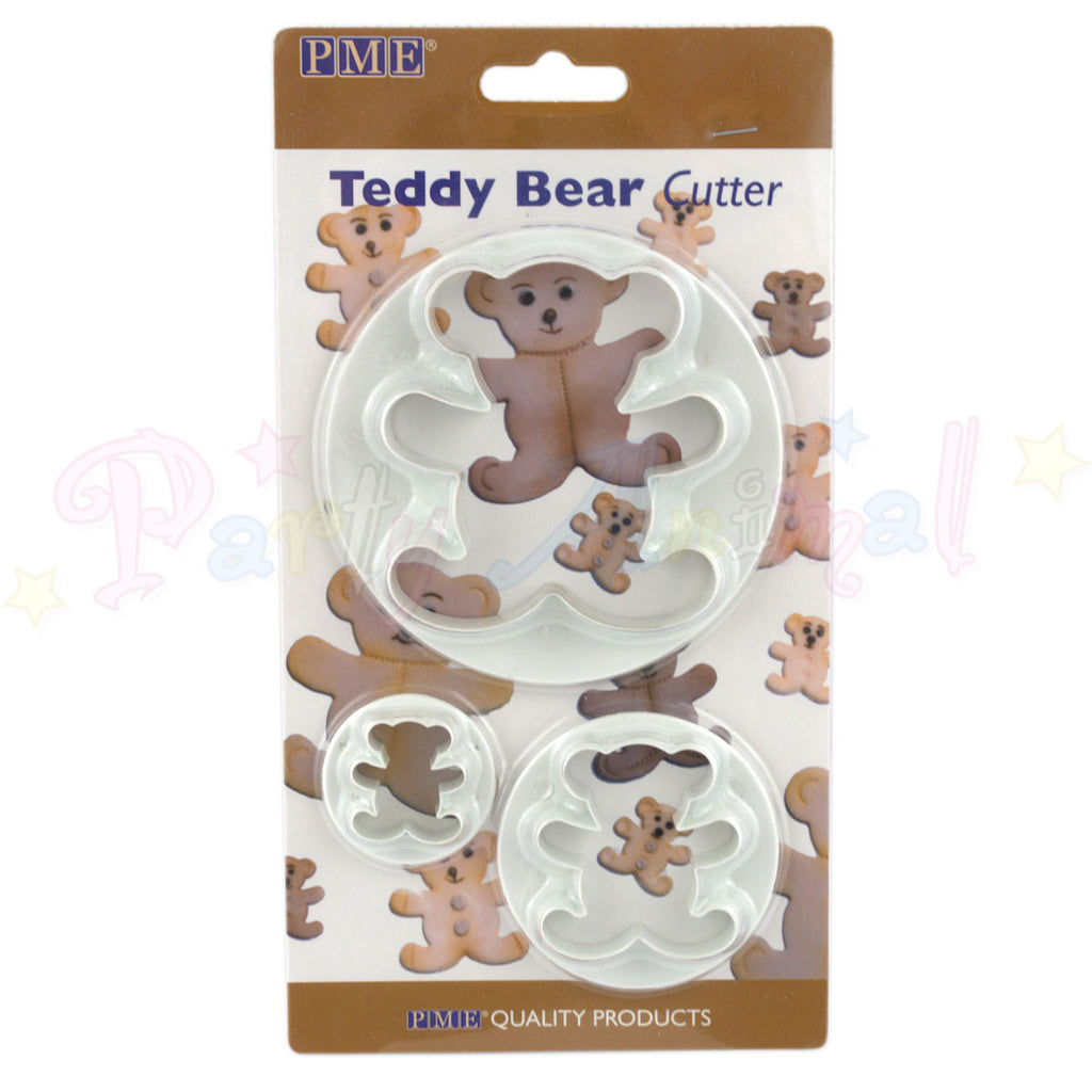 PME Teddy Cutters Set of 3 - 22-75mm