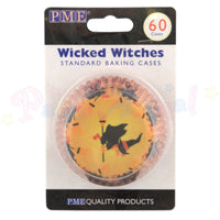 PME Bun / Cupcake Cases HALLOWEEN WITCH - Pack of 60