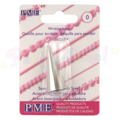 PME Seamless Stainless Steel Piping Icing Tube 0 Plain Writer