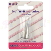 PME Seamless Stainless Steel Piping Icing Tube 1 Plain Writer
