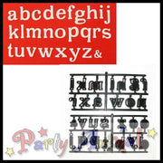 Patchwork Cutters Alphabet LARGE Lower Case - Partyanimalonline