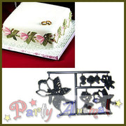 Patchwork Cutters MAGNOLIA AND ROSE Flower Set