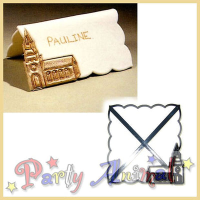 Patchwork Cutters Place Setting Name Card Cutter (B) CHURCH