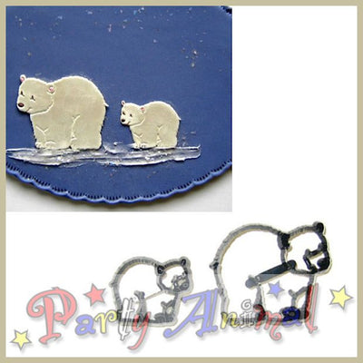 Patchwork Cutters POLAR BEAR SET
