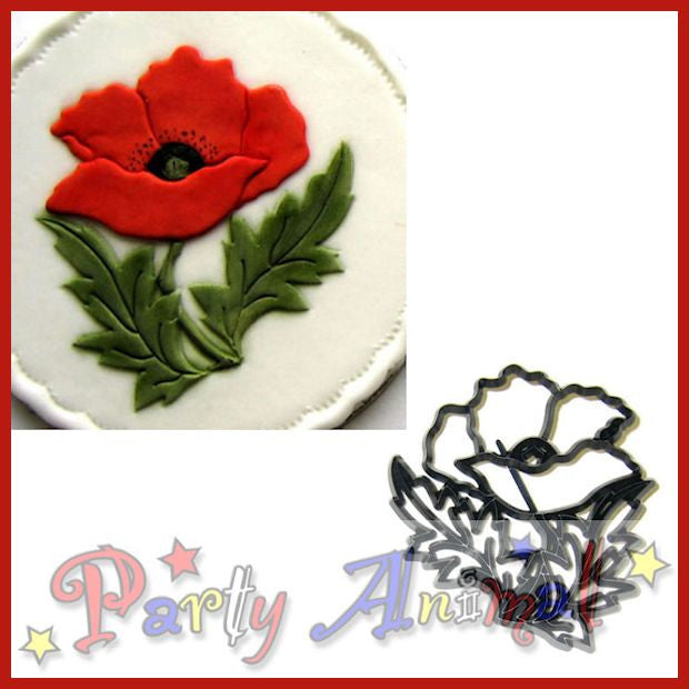 Patchwork Cutters POPPY Flower Cutter