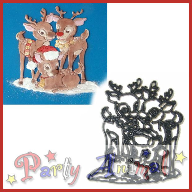 Patchwork Cutters REINDEER
