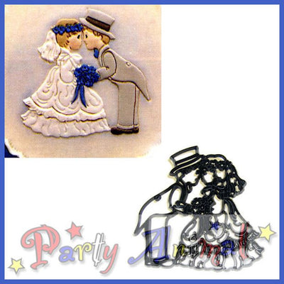 Patchwork Cutters BRIDE & GROOM reverse