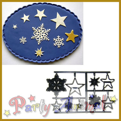 Patchwork Cutters SNOWFLAKES and STARS