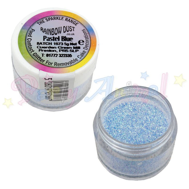 Rainbow Dust Glitter Sparkle Colours - PASTEL BLUE