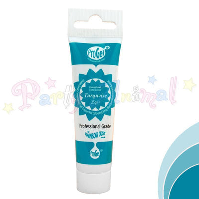 Rainbow Dust Edible Food Colour Pro Gel - TURQUOISE