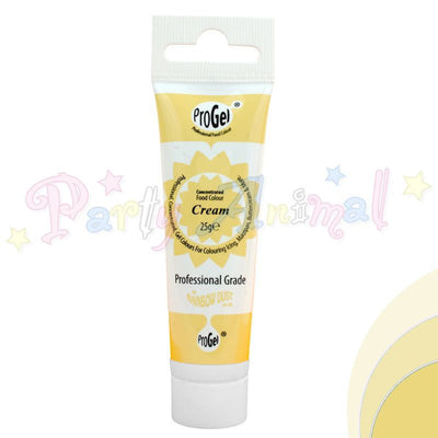 Rainbow Dust Edible Food Colour Pro Gel - CREAM