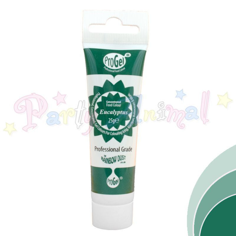 Rainbow Dust Edible Food Colour Pro Gel - EUCALYPTUS