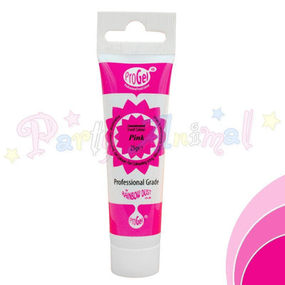 Rainbow Dust Edible Food Colour Pro Gel - PINK