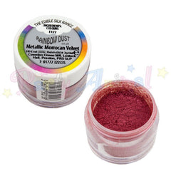 edible rainbow dust cake decorating metallic moroccan red partyanimalonline image