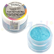 partyanimalonline. silk range. rainbow dust. pearl pale pacific blue. edible. image. cake decorating.