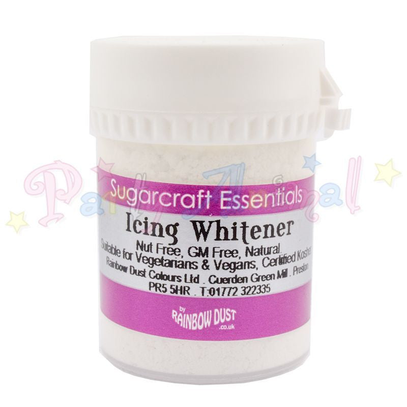 Rainbow Dust Powdered Icing Whiter