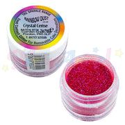 Rainbow Dust Glitter Sparkle Colours - CRYSTAL CERISE PINK