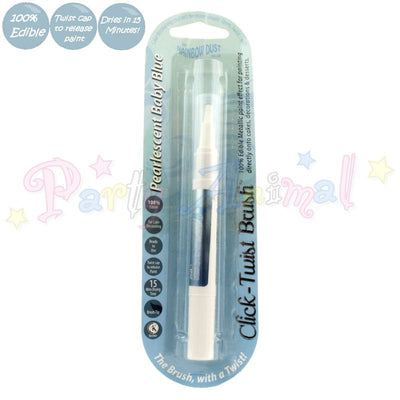 Rainbow Dust Click-Twist Brush Range - PEARLESCENT BABY BLUE