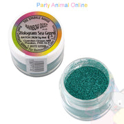 Rainbow Dust Glitter Sparkle Colours - HOLOGRAM SEA GREEN