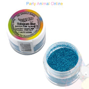 Rainbow Dust Glitter Sparkle Colours - HOLOGRAM BLUE