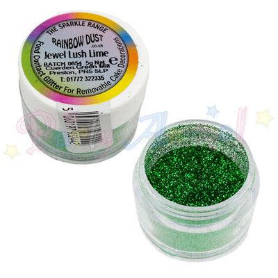 Rainbow Dust Glitter Sparkle Colours - JEWEL LUSH LIME