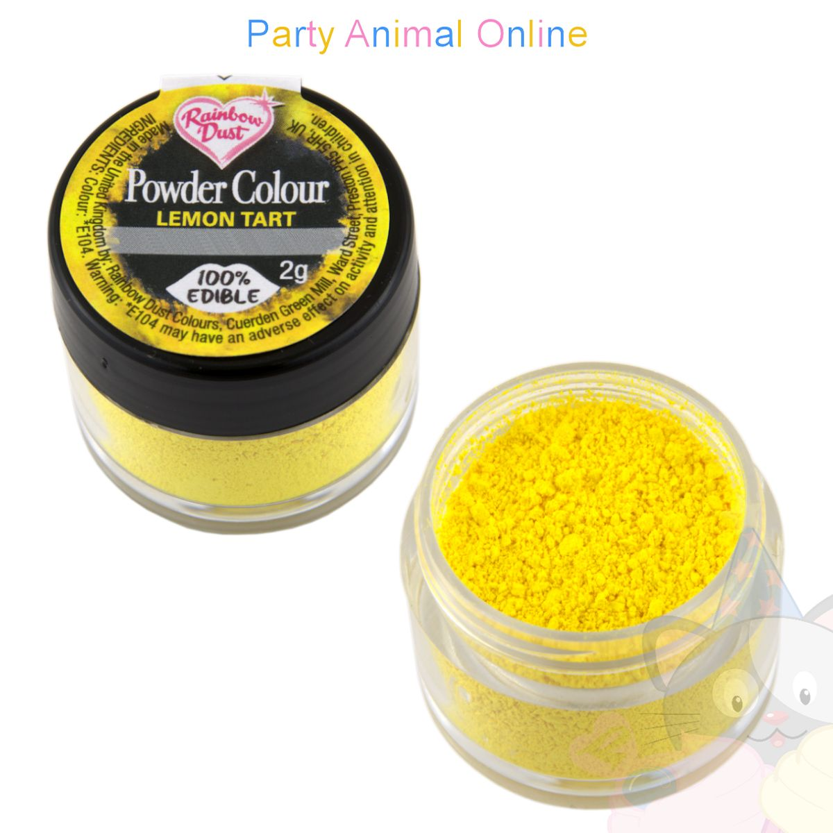 Rainbow Dust Plain and Simple Range - LEMON TART