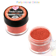 Rainbow Dust Powder Colour Range - POPPY RED
