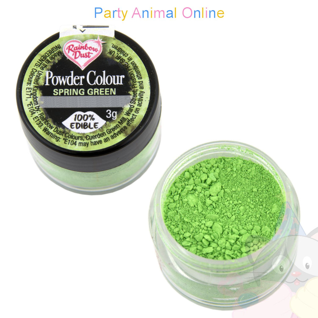 Rainbow Dust Powder Colour Range - SPRING GREEN