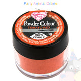 Rainbow Dust Powder Colour Range - TOMATO RED